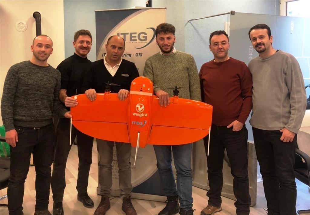 ITEG has purchased WingtraOne PPK UAV.